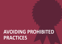 Avoiding Prohibited Practices